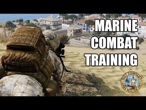 Marine Combat Training   Riot Company