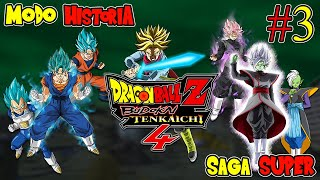 DRAGON BALL SUPER: MODO HISTORIA [Parte 3] - Dragon Ball Z Budokai Tenkaichi 4 (Latino)