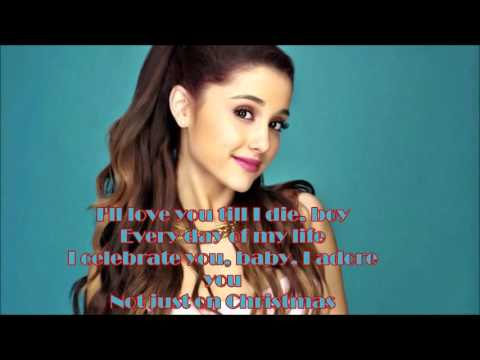 Ariana Grande Not Just On Christmas With Lyrics Hd | Mp3 Download ...