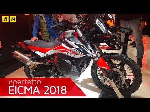KTM 790 Adventure R e standard - EICMA 2018 [ENGLISH SUB]