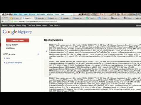 HTTP Archive + BigQuery = Web Performance Answers - igvita com