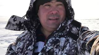 Рыбалка Казахстан Коргалжынский заповедник озеро Кокай 14 декабря 2019г
