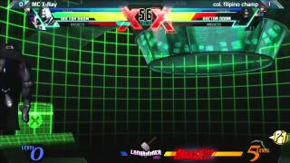 UMVC3: MC X-Ray vs Col. Filipino Champ - Lanhammer 2013