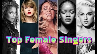 Most Top 10 Hits on the Hot 100: Female Artists