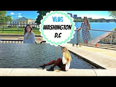 VLOG WASHINGTON DC (Museu de História Natural, Casa Branca, Capitólio, Georgetown, etc...)