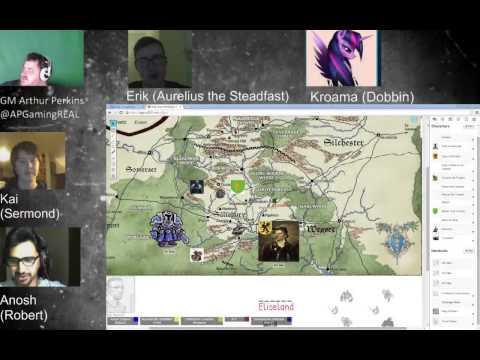 King Arthur Pendragon 5.1- Great Pendragon Campaign - Week 1 Part 1