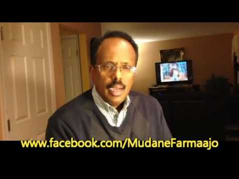 Meet Former Somali PM & Next Somali President - Mohammed Abdullahi Farmaajo on His Official FB Page