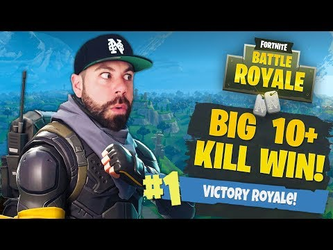 MY HIGHEST EVER KILL SOLO WIN!!! INTO DOUBLE DIGITS!!!! Fortnite: Battle Royale