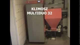 KLIMOSZ MultiDuo 32 kocioł na miał węglowy, węgiel brunatny, ekogroszek, pelety