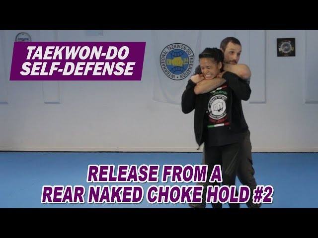 Release from a rear naked choke hold #2