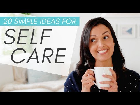 SELF CARE ROUTINE IDEAS 💆 (20 Activities To Reduce Stress + Feel Better)