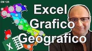 Cartina Mondo Excel.Em125 Come Creare Un Grafico Geografico Con Excel Youtube