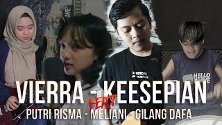 Download lagu VIERRA - KESEPIAN (ROCK COVER) FT, MELIANI, PUTRI RISMA, GILANG DAFA
