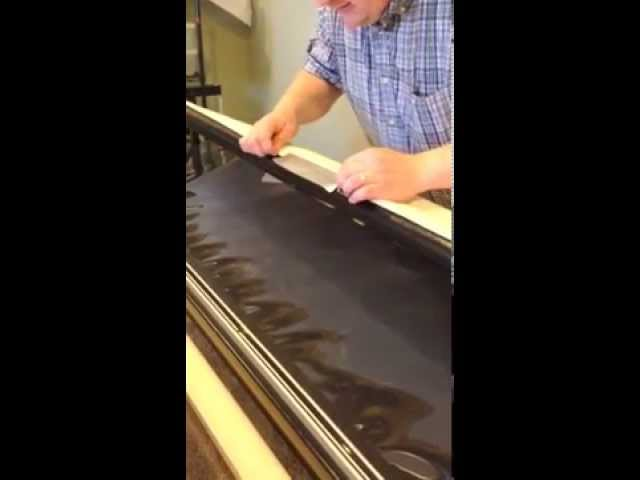 Easy Way to Replace Canvas Leaders on Gammill and Statler Longarm Quilting Machines