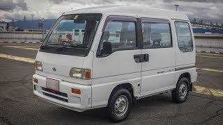Субару Самбар 1993 Ван - наддувом і 4WD керівництво - ходити навколо і тест-драйв