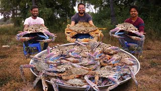 King Size Crab Curry   Crab Masala Recipe   Crabs Gravy Recipe Grandpa Kitchen
