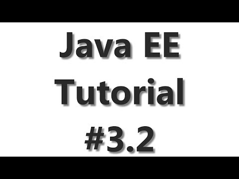 Java EE Tutorial #3 - JPA Database Connection Part 2