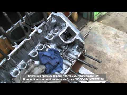 Установка гильз ГАЗ - 53