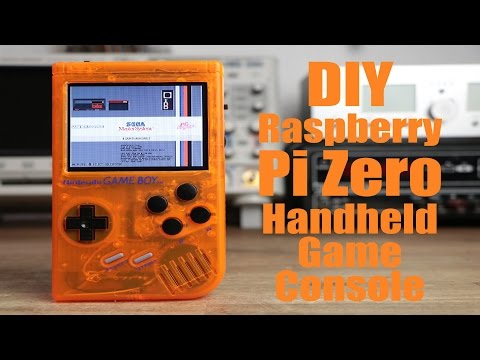 DIY Raspberry Pi Zero Handheld Game Console (Part 2)