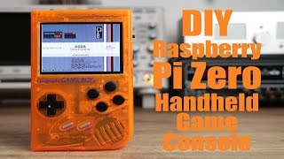 diy raspberry pi zero handheld game console part 2