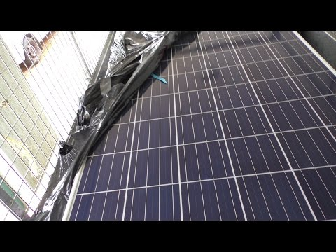 OFF GRID Power System.  New Solar Panels ( Part 1 )