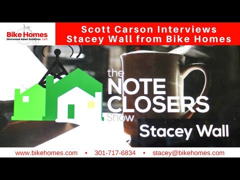 Scott Carson interviews Stacey Wall from Bike Homes