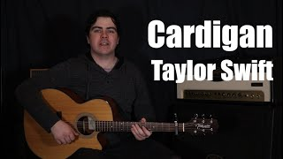 Baixar Cardigan - Taylor Swift | Chords and TAB | How to Play | Guitar Lesson