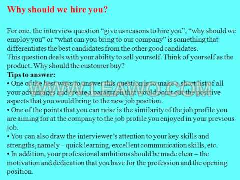 9 financial clerk interview questions and answers - YouTube