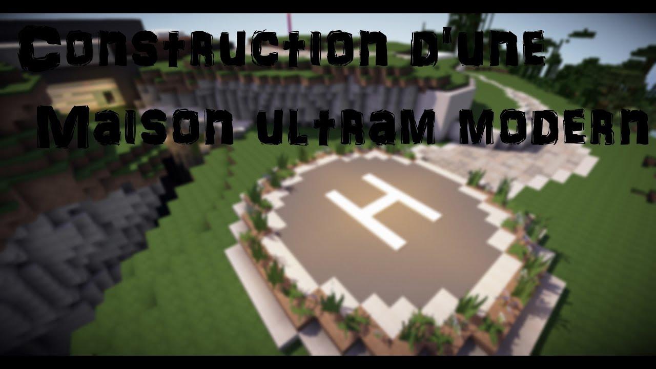 Minecraft construction d 39 une maison ultra moderne ep 6 for Minecraft construction d une maison
