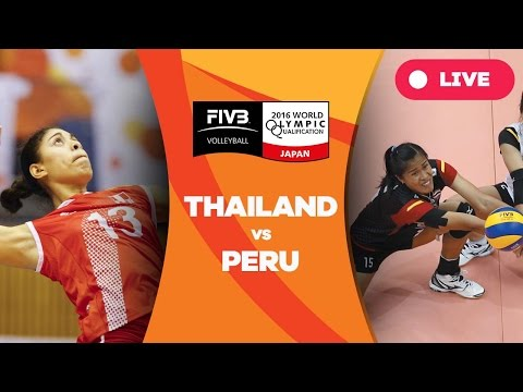 Thailand v Peru - 2016 Women's World Olympic Qualification T