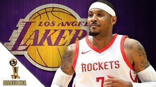 Los Angeles Lakers Favorites To SIGN Carmelo Anthony?! | NBA Rumors