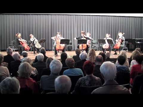 G. Sollima: Violoncelles, vibrez! (cello ensemble)