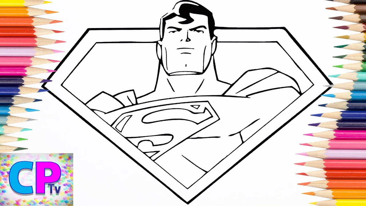 superman coloring pages for kids part 18 superman coloring pages