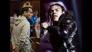 6ix9ine Denied Bail after Offering his Entire Bank Account Balance ($1.7 mil) & Passport to Court.