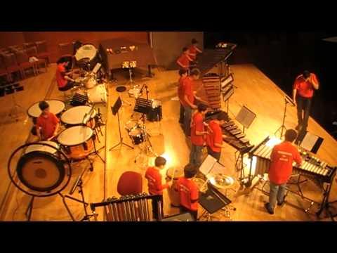 Gangnam Style, Percusiones de Alcañiz