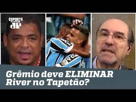 O Grêmio deve ELIMINAR o River no TAPETÃO? Veja DEBATE!