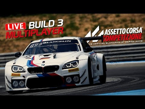 Multiplayer & BMW M6 - Build 3 - Assetto Corsa Competizione Gameplay [GER] [HD] Paul Ricard