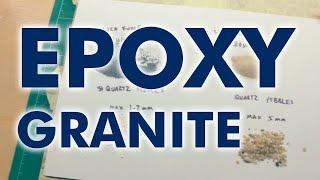 Epoxy Granite / Epoxy Quart Mixes & Tests - Part 1