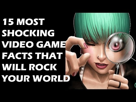 15 Most Shocking  And Interesting Video Game Facts That Will Rock Your World