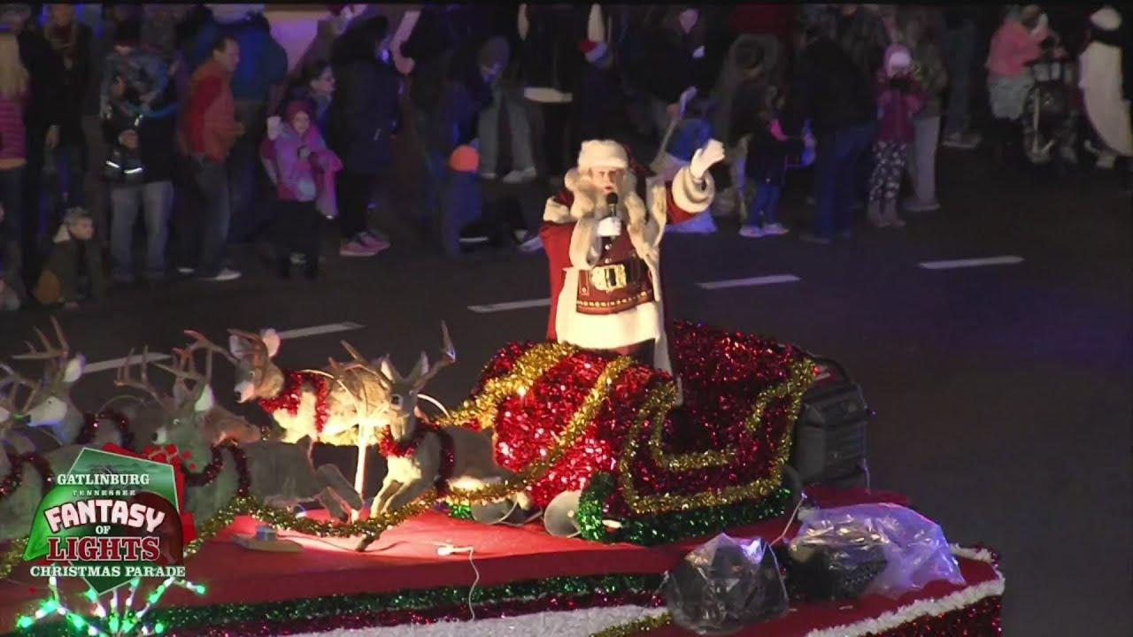 Lights Christmas Parade in Gatlinburg