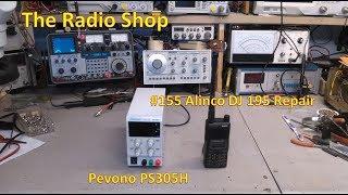 видео Ремонт радиостанции Alinco DJ-195