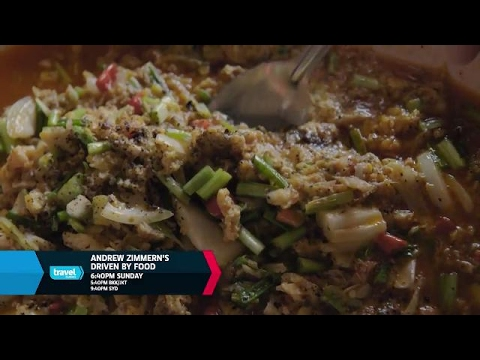 Crab Curry  Andrew Zimmern's Driven By Food  Travel Channel Asia