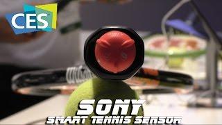 Sony Smart Tennis Sensor - датчик для ракетки(Sony в рамках CES 2015 представила Smart Tennis Sensor - это умный датчик для теннисной ракетки. Если вы любите теннис и..., 2015-01-17T11:24:56.000Z)