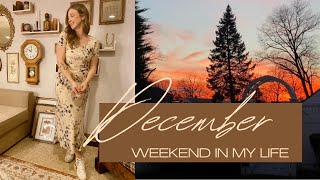December Weekend In My Life: Thrifting, Coffee, and Opening Up
