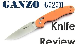 🗡 Review of Ganzo G727M.  A Classic folder w Axis lock 💥 The Best EDC? 👍