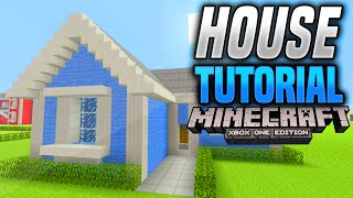 Minecraft Simple Traditional House Tutorial  (Xbox One/360/Ps3/Ps4)