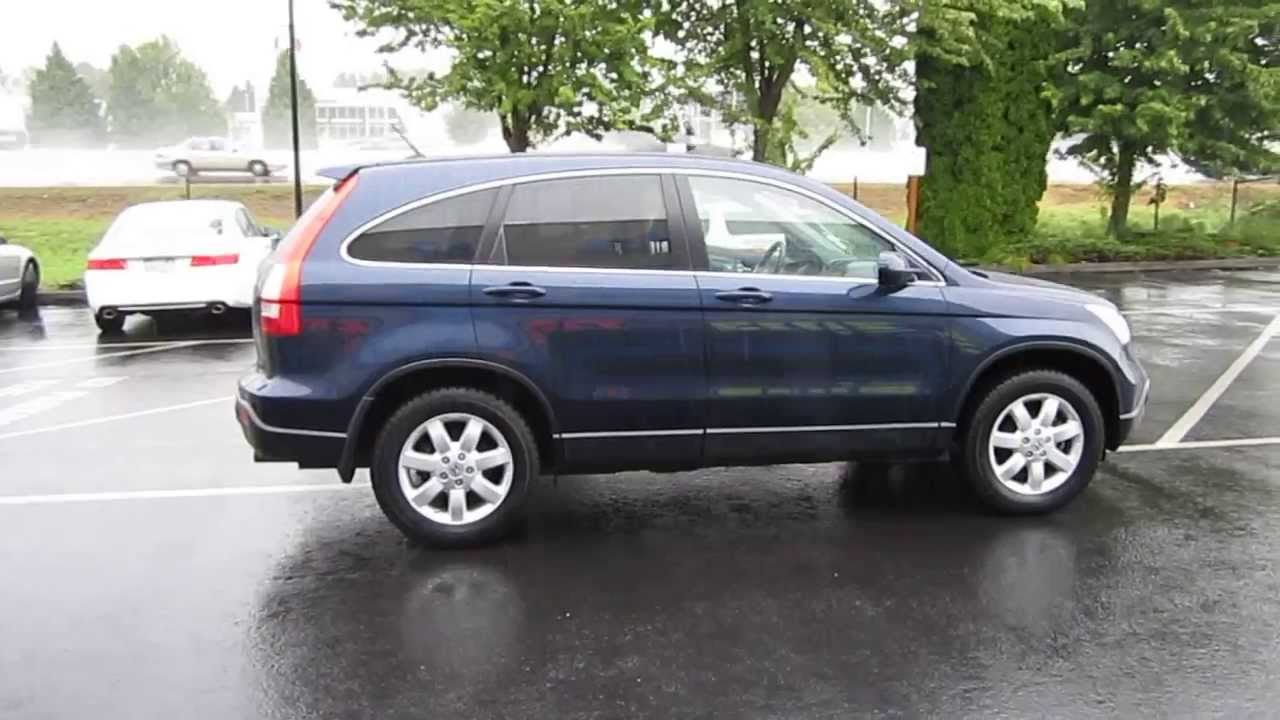 2007 Honda CR-V, Royal Blue Pearl - STOCK# 731094