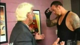 The Undertaker and Ric Flair Backstage Funny