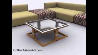Large Square Coffee Tables