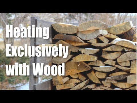 How We HEAT (almost) Exclusively With A WOOD STOVE